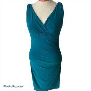 Lauren Ralph Lauren Womens Size 6 Turquoise Dress